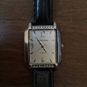 Pierre Cardin Watch with crystals